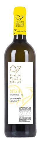 Mladé víno - Müller Thurgau - ŠTĚSTÍ