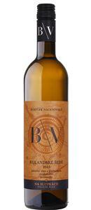 """ČR - Bábíček Vacenovský - Rulandské šedé """"na slupkách"""" - oranžové víno - pozdní sběr - Úlehle, 2015"""