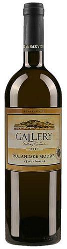 Gallery - Rulandské modré - výběr z hroznů