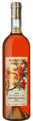 Flower Line - Cabernet Moravia rosé - pozdní sběr