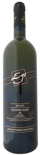 EGO No. 72 - Veltlínské zelené pozdní sběr