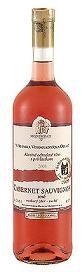 Cabernet Sauvignon rosé - výběr z hroznů