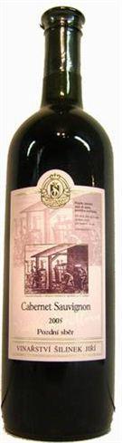 Cabernet Sauvignon - pozdní sběr