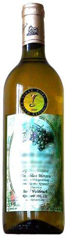Chardonnay - výběr zhroznů, panenské víno