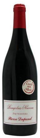 Pierre Dupond - Beaujolais Nouveau Rouge - ze starých vinic - nefiltrované
