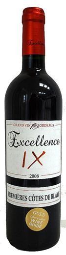 Excellence IX - AOC 1er Cotes de Blaye