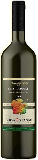 Chardonnay - výběr z hroznů - Čachtice