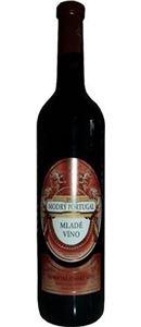 ČR - Krist - Mladé víno - Modrý Portugal, 2019